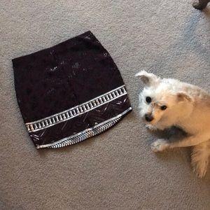 NWT Express Sequin Skirt